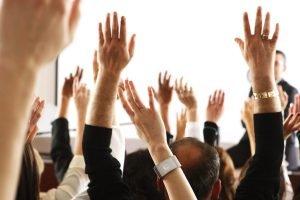 hands-voting